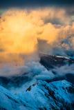 Mountains ski resort Kaprun Austria - nature and sport background Stock Photo