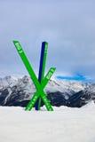 Mountains ski resort Solden Austria Royalty Free Stock Images