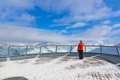Mountains ski resort Solden Austria Stock Photos