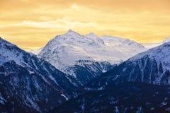 Mountains - ski resort Solden Austria Royalty Free Stock Photography