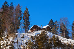 Mountains ski resort St. Gilgen Austria Royalty Free Stock Photos