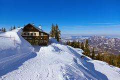 Mountains ski resort St. Gilgen Austria royalty free stock photography