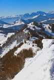 Mountains ski resort St. Gilgen Austria Royalty Free Stock Photo
