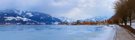 Mountains ski resort Zell am See - Austria Stock Photo