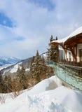 Mountains ski resort Zell-am-See Austria Stock Image