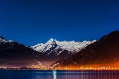 Mountains ski resort Zell am See Austria Stock Photos