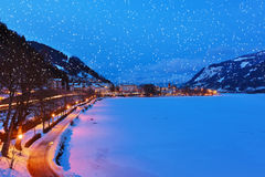 Mountains ski resort Zell am See - Austria Royalty Free Stock Photos