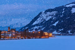 Mountains ski resort Zell am See - Austria Stock Image