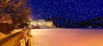 Mountains ski resort Zell am See - Austria Royalty Free Stock Photo