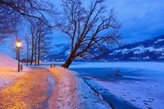 Mountains ski resort Zell am See - Austria Royalty Free Stock Image