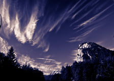 Mountains and Sky Royalty Free Stock Photos