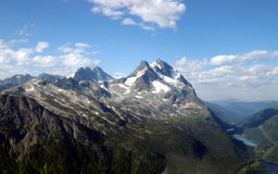 Mountains and Sky. Mountains on a background of the sky Royalty Free Stock Photos