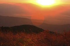 Mountains on the sky background, Macedonia Royalty Free Stock Photo
