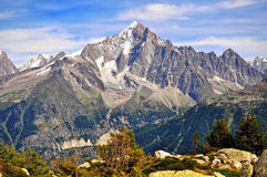 Mountains and sky Royalty Free Stock Image