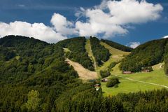 Mountains. In Slovakia called Fackovske sedlo - Mala Fatra Stock Photo