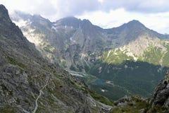 Mountains. On Slovakia, High Tatras, Lake, Mountain Royalty Free Stock Photography