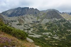 Mountains of Slovakia. View of the Slovak mountains Royalty Free Stock Photography
