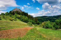 Mountains of Slovakia Stock Photo