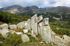 Mountains of Slovakia. View of the Slovak mountains Stock Photo