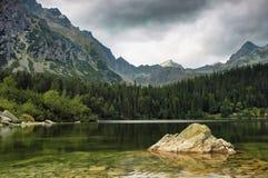 Mountains of Slovakia. View of the Slovak mountains Stock Photos