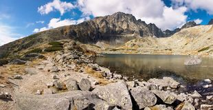 Mountains of Slovakia. View of the Slovak mountains Stock Images