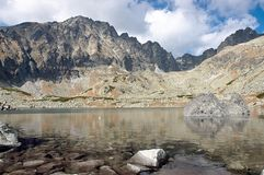 Mountains of Slovakia. View of the Slovak mountains Stock Image
