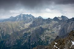 Mountains of Slovakia Royalty Free Stock Photos