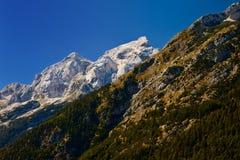 Mountains, Slovenia. Mountains at Triglav National Park, Slovenia Royalty Free Stock Photography