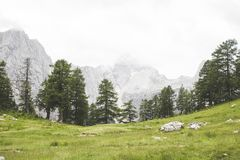 Mountains of Slovenia stock photo