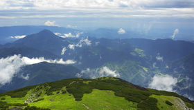 Mountains in Slovenia Royalty Free Stock Photography