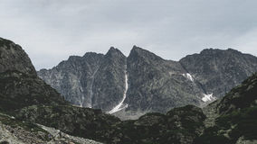 Mountains With Snow Royalty Free Stock Images