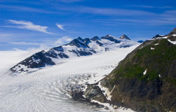Mountains and Snow in Alaska Stock Images
