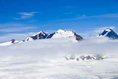 Mountains and Snow in Alaska Royalty Free Stock Photography
