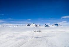 Mountains and Snow in Alaska Stock Photos