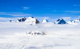 Mountains and Snow in Alaska Royalty Free Stock Image