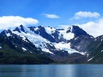 Mountains. Snow mountains landscape at alaska Stock Images