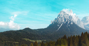 Mountains with snow, landscape, Alps Royalty Free Stock Photos