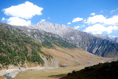 Mountains, Sonamarg, Kashmir, India Royalty Free Stock Photos