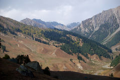 Mountains, Sonamarg, Kashmir, India Stock Photos