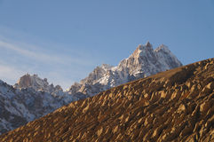 Mountains in Sost,Northern  Pakistan Stock Image