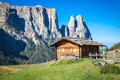 Mountains in South Tyrol Royalty Free Stock Photo