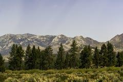 San Bernardino Mountains in Southern California royalty free stock image