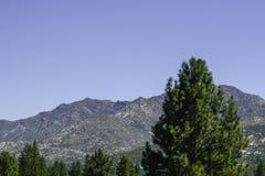 San Bernardino Mountains in Southern California royalty free stock photos