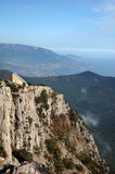 Mountains of southern coast of Crimea Stock Photos