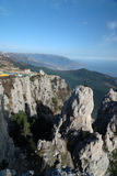 Mountains of southern coast of Crimea Stock Image