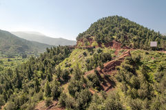 Mountains in southern of Morocco Royalty Free Stock Images