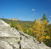 Mountains of Southern Ural Stock Photos