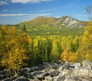 Mountains of Southern Ural Royalty Free Stock Image