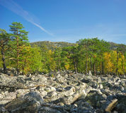 Mountains of Southern Ural Royalty Free Stock Images