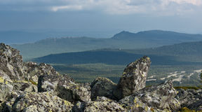 Mountains of Southern Urals Stock Photo